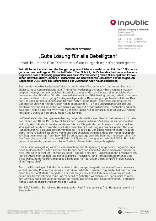 Download Pressetext